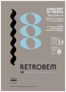 Concert Tardor Retrobem la nsotra música 20190928B