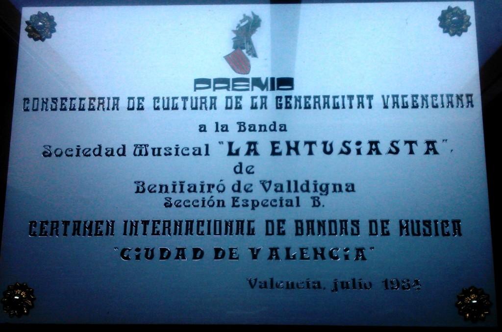 1984 Diploma Certamen València
