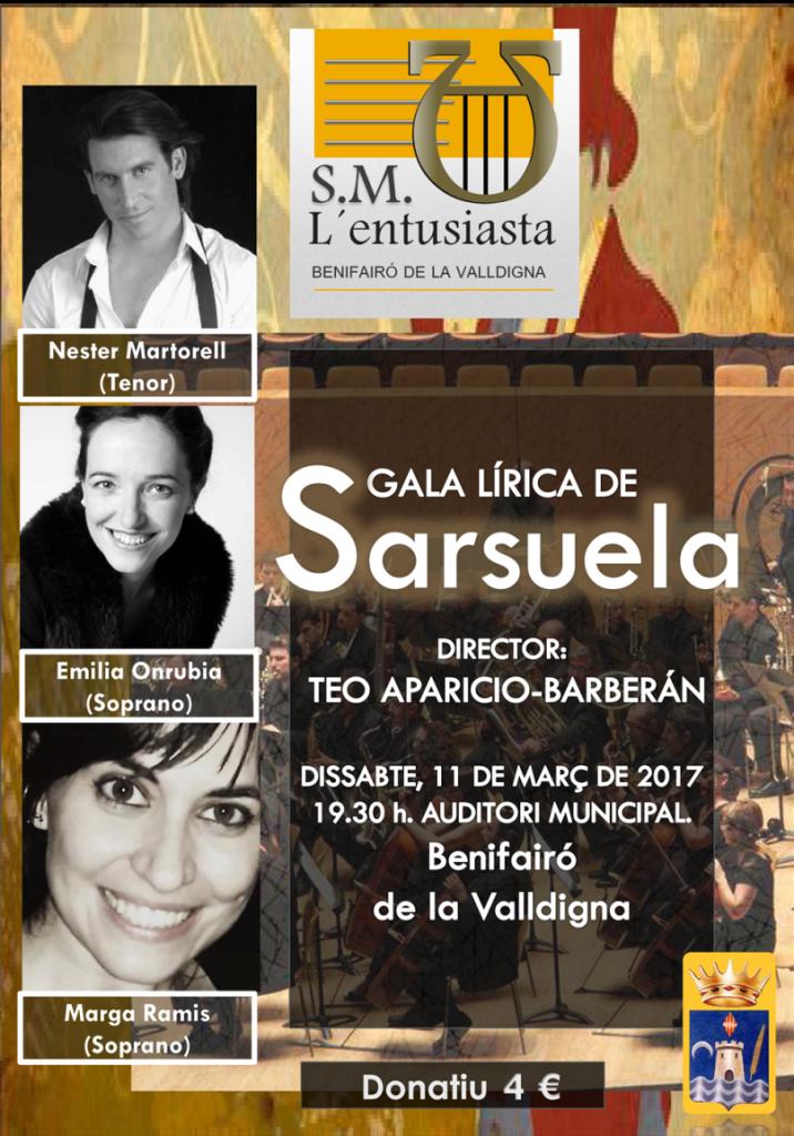 Gala Lírica Zarzuela