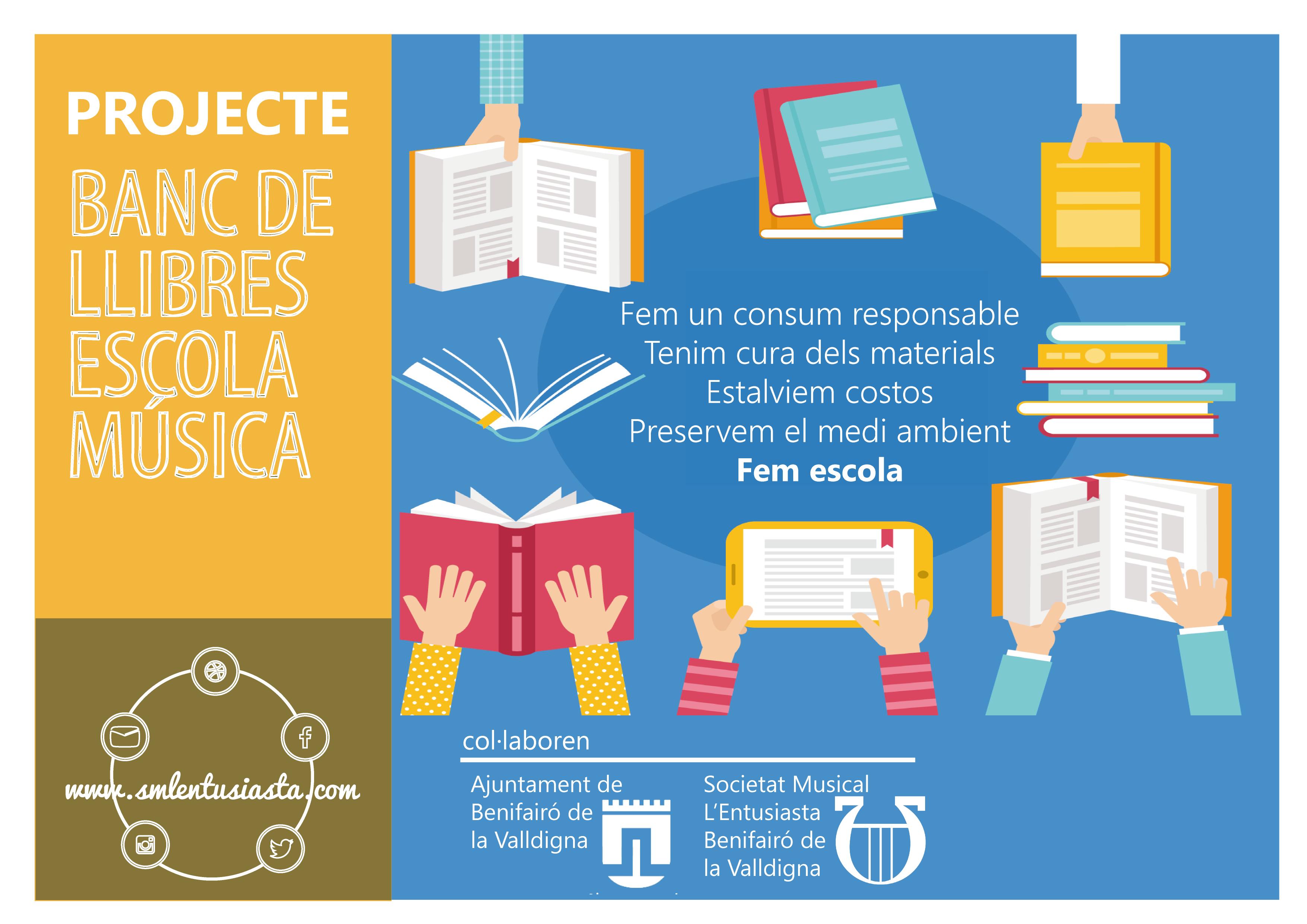 Cartell Projecte Banc de Llibres