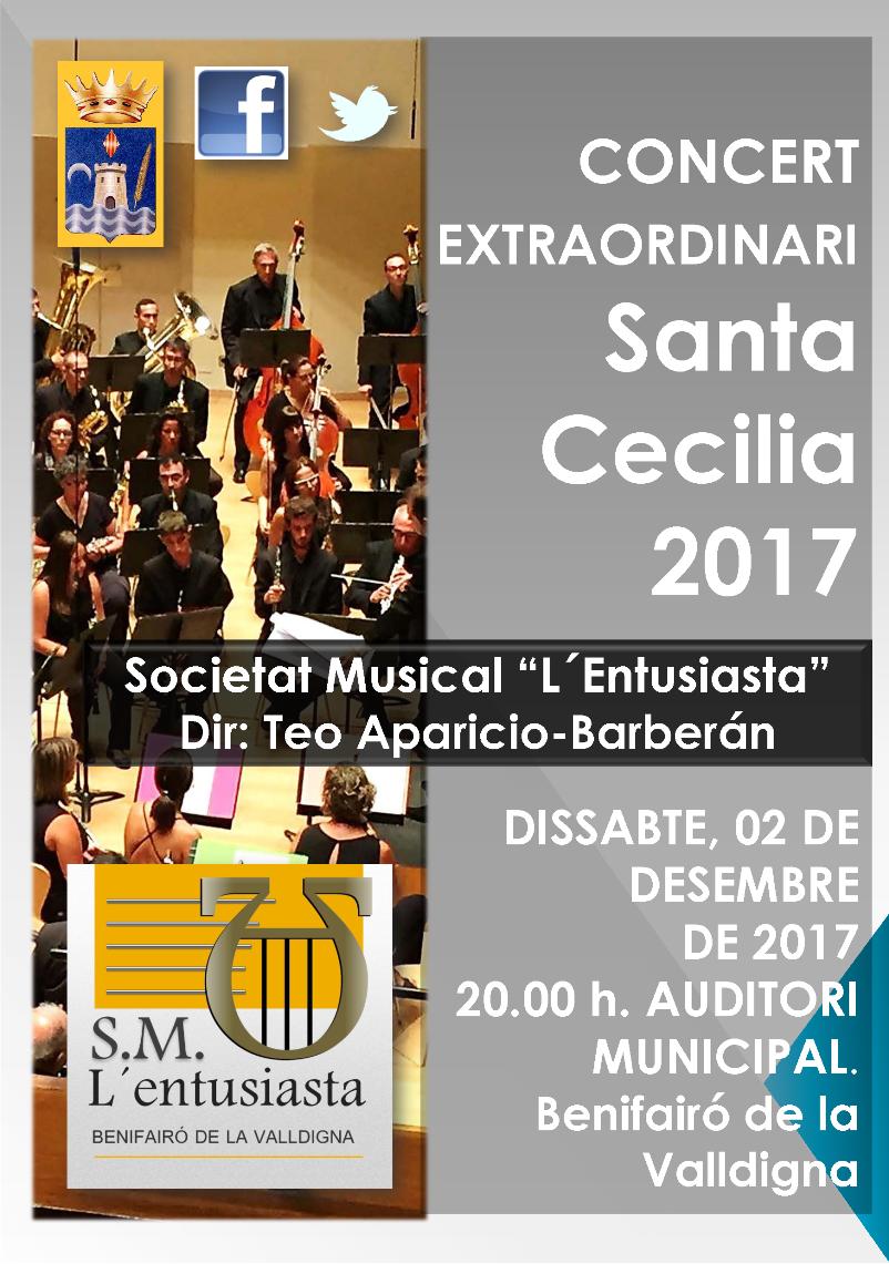 Poster Sta. Cecilia 2017red