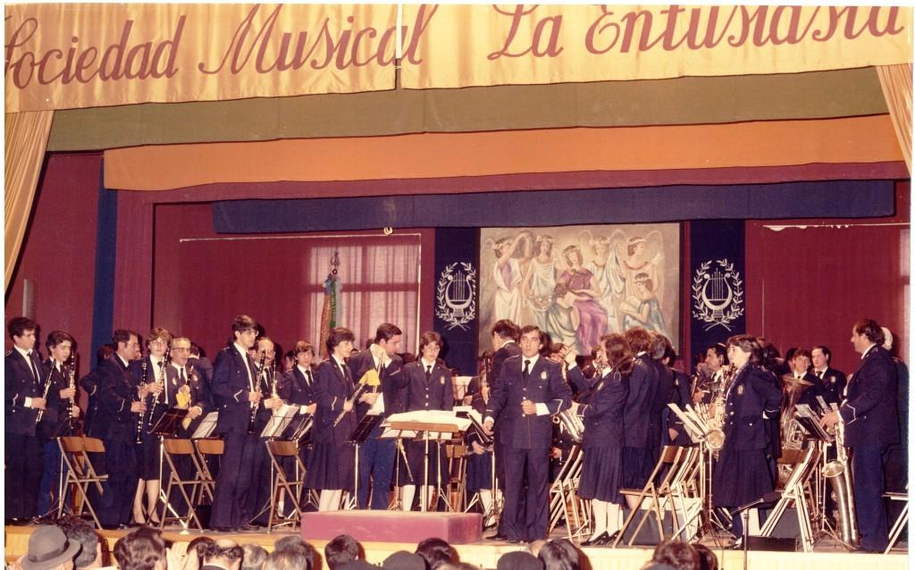 Concert al vell auditori. Any 1980