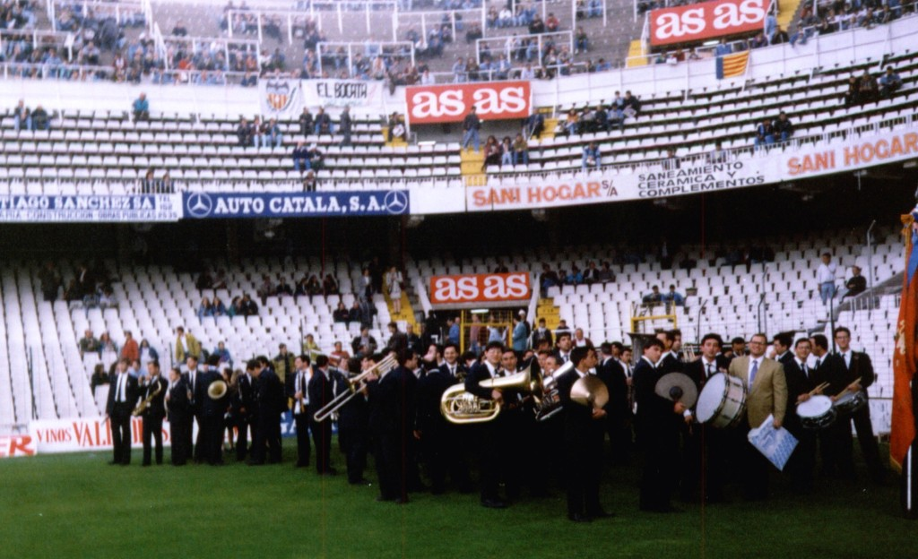 Camp de Mestalla. Any 1994