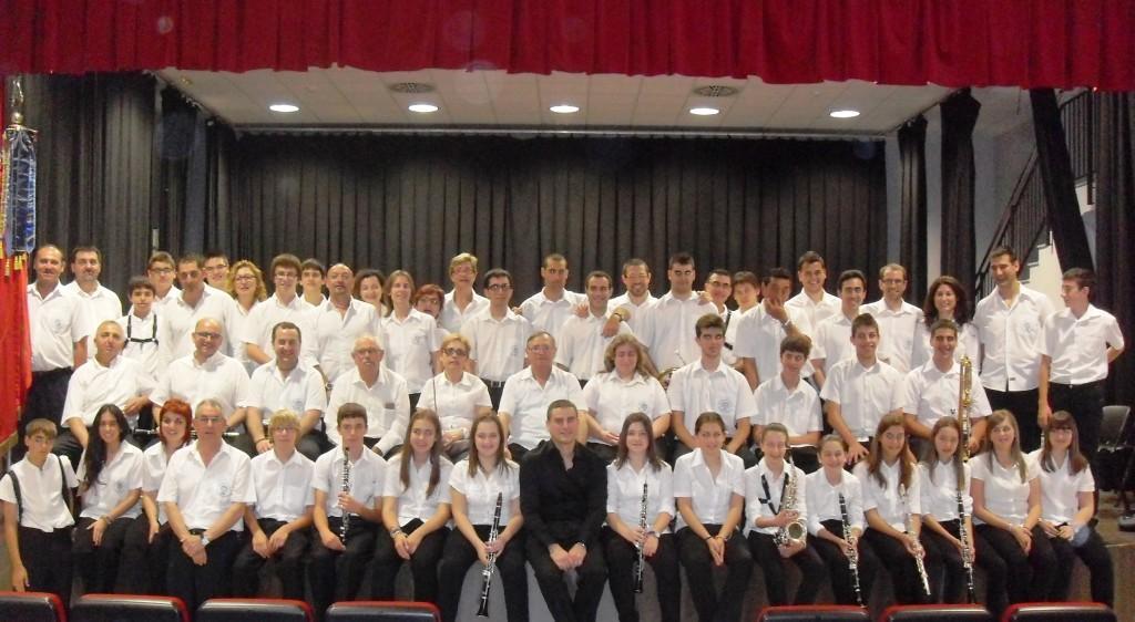 Foto de grup al nou auditori. Any 2013