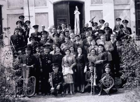 Benedicció de la bandera. Any 1954